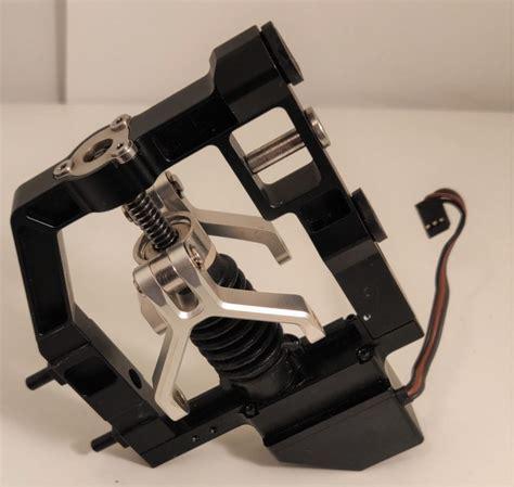 dji inspire  center frame landing gear riser component part  droneoptix parts