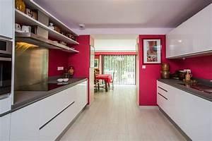 cuisine rouge et blanc moderne ciabizcom With cuisine moderne rouge et blanc