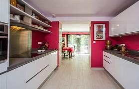 hd wallpapers cuisine moderne rouge et blanc
