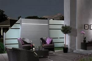 glas im aussenbereich freie sicht und sicherer windschutz With französischer balkon mit sicht und schallschutz im garten