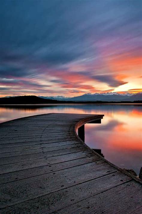 stunning sunset  corel discovery center