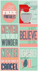 Free Printables... Free Prints Quotes