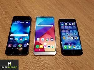 Iphone 7 Comparatif : lg g6 vs huawei p10 vs iphone 7 bataille de choc pour les trois mastodontes du march ~ Medecine-chirurgie-esthetiques.com Avis de Voitures