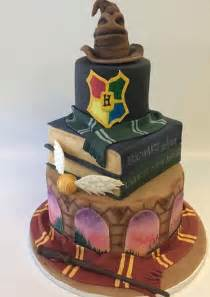 gold letter cake topper 15 jaw droppingly gorgeous harry potter themed cakes