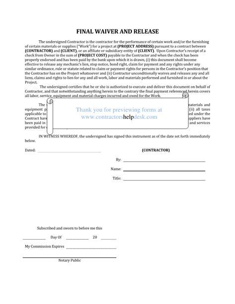 contractors  desk forms