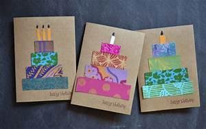 Geburtstagskarte Basteln Einfach : geburtskarten gestalten 29 ideen zum nachbasteln ~ Orissabook.com Haus und Dekorationen
