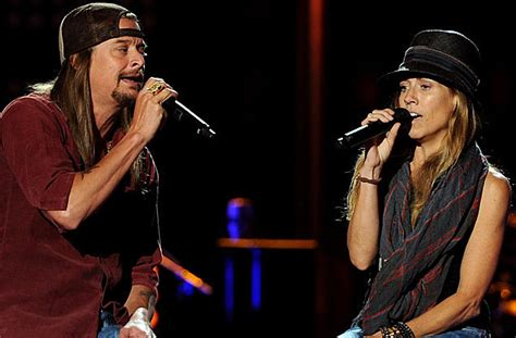 Picture Kid Rock Featuring Sheryl Crow: Kid Rock And Sheryl Crow 'Collide' During 'CMA Music