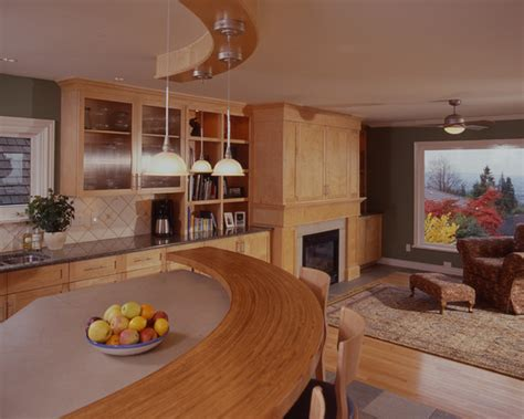 curved kitchen designs modern curved table home interior design 3043