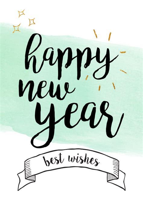 Happy New Year  Best Wishes  Nieuwjaarskaarten Kaartje2go