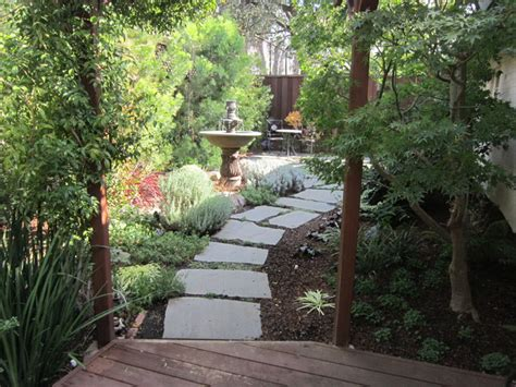 entry to secret garden in los gatos ca traditional