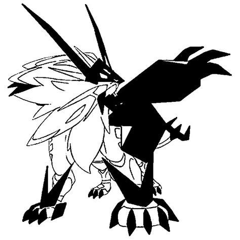 disegno da colorare pokemon ultrasole  ultraluna dusk