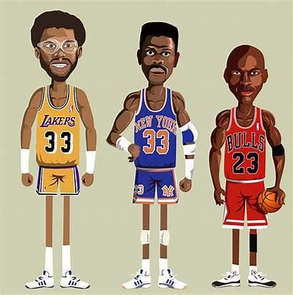 Nba Legends Abdul Jabbar Kareem Basketball Players