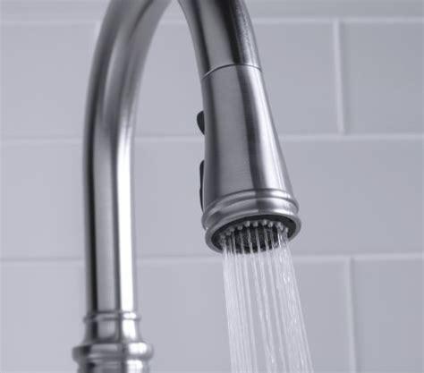 Kohler K 560 VS Bellera Pull Down Kitchen Faucet, Vibrant