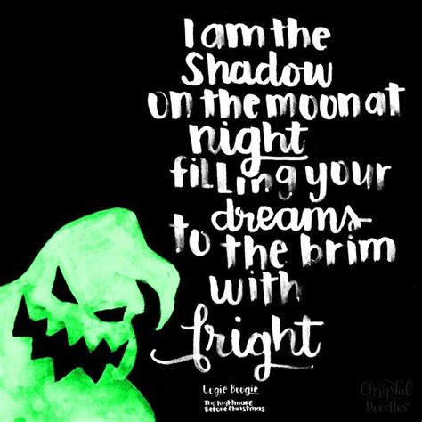 day   nightmare  christmas quote oogie
