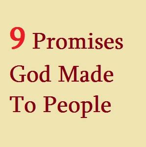 What Was Promised And What Needs To Be 9 Comforting Promises God Has Given To In The Bible