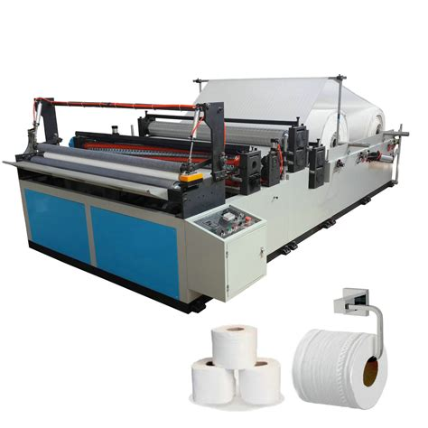 china  cost small toilet paper roll making machine