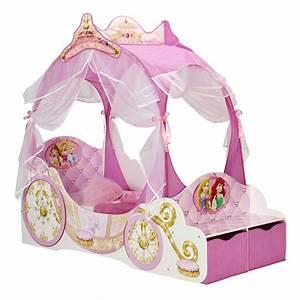 Lit Princesse Fille : room studio lit enfant en bois carrosse disney princess lit enfant room studio sur maginea ~ Teatrodelosmanantiales.com Idées de Décoration