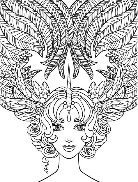 crazy art coloring pages coloring page