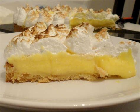 cuisine tarte au citron recette tarte au citron meringué 194868