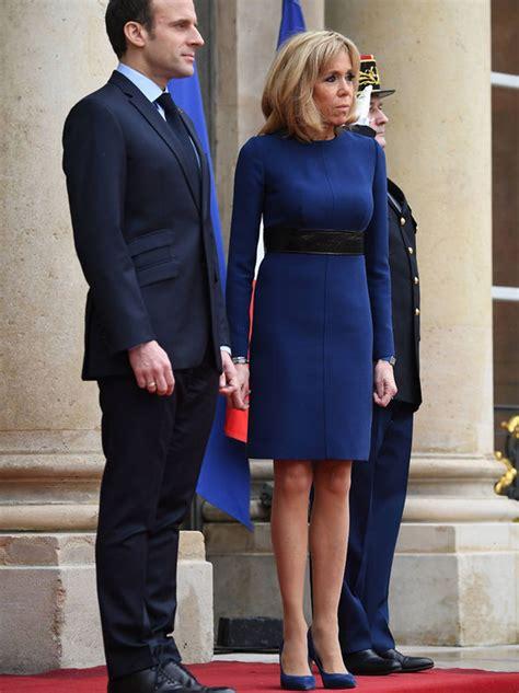 brigitte macron sexy brigitte macron news french president s wife flashes legs