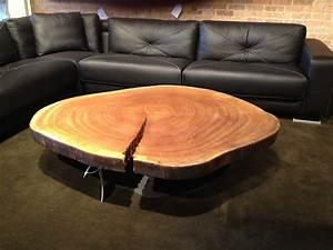 Table Basse Tronc : 1001 id es table basse en tronc d 39 arbre le meuble diy qui cache la for t ~ Teatrodelosmanantiales.com Idées de Décoration