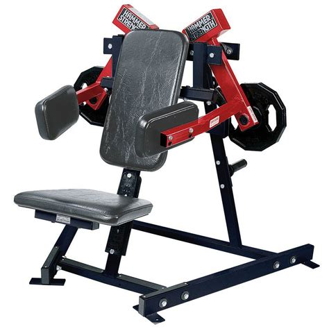 Hammer Strength Plate Loaded Lateral Raise  Used Gym