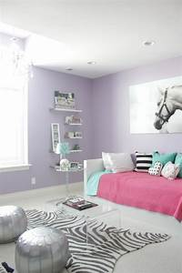 44 super idees pour la chambre de fille ado With decoration chambre ado fille