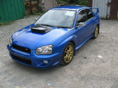 Subaru Impreza Wrx Sti For Sale by 2003 Subaru Impreza Wrx Sti For Sale 2000cc Gasoline