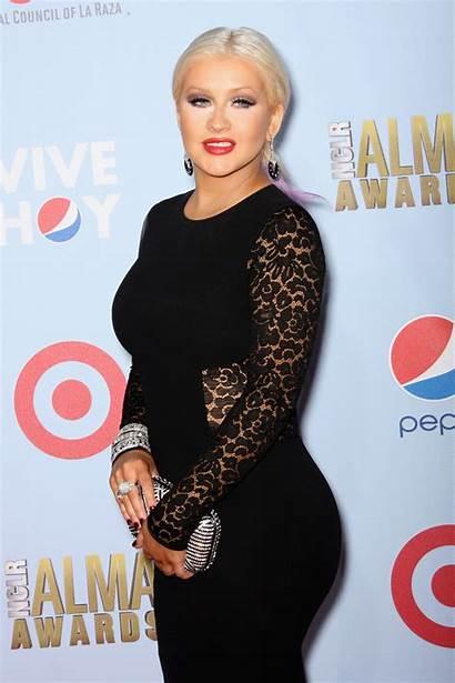 Aguilera Christina Awards Alma Nclr Pasadena Fat