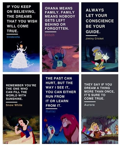 Disney Life Lessons Quotes