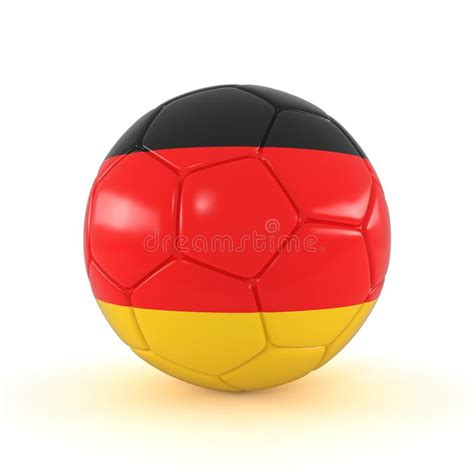With several successful flag football events and the establishment of a bundesliga, increased audience interest can be observed. 3d Render - Russia 2018 - Football With Germany Flag Stock ...
