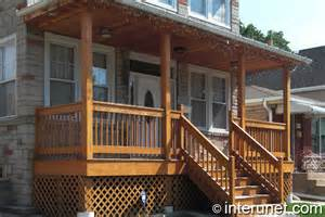 Wooden Front Porch Designs