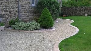 jardin en gravier meilleures images d39inspiration pour With allee de jardin en cailloux