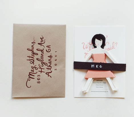 Paper Dolls Card @ Lushlee