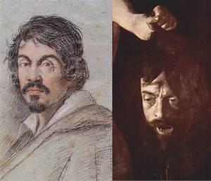 """Left: Ottavio Leoni, """"Portrait of Caravaggio,"""" c. 1620 ..."""