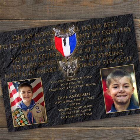 images  scouts eagle scout invitations