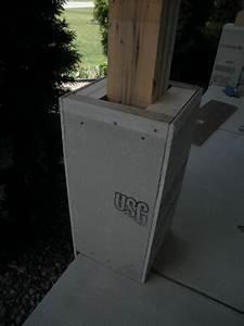 Craftsman Style Tapered Porch Columns