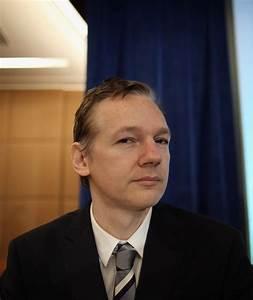 Julian Assange in Wikileaks Founder Julian Assange Holds ...