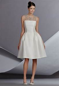 Simple white dress for civil wedding naf dresses for Simple white dress for civil wedding