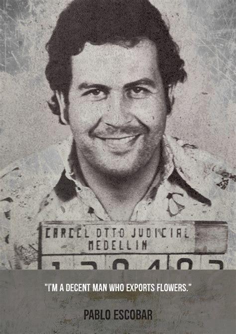 Pablo Escobar Mugshot 70s Mugshot Gangster Posters