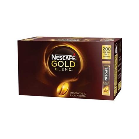 Shop for nescafe instant coffee online at target. Nescafe Gold Blend Instant Coffee Stick Sachets (Pack 12151864-XX601