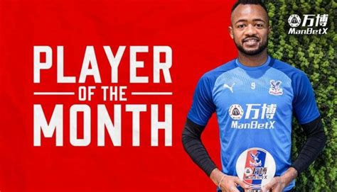 Jordan Ayew is Crystal Palace October Player of the Month ...