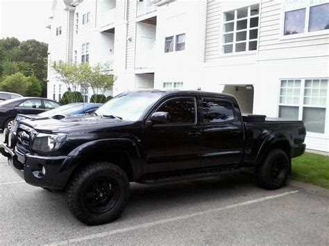toyota tacoma blacked out black show us you blacked out aka murderd out tacomas