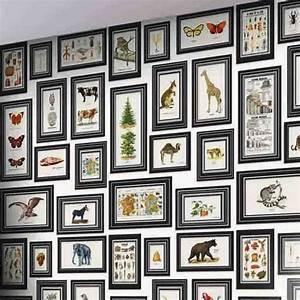 Cadre Pour Plusieurs Photos : d coration murale 20 id es pour accrocher ses cadres c t maison ~ Teatrodelosmanantiales.com Idées de Décoration