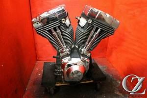 B 99 Harley Davidson Flht Electra Glide Engine Motor