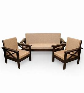 Wooden sofa sets india sheesham wood sofa sets indian for Wooden sofa set