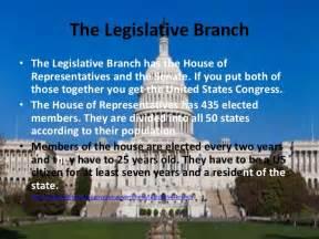 Legislative Branch Government