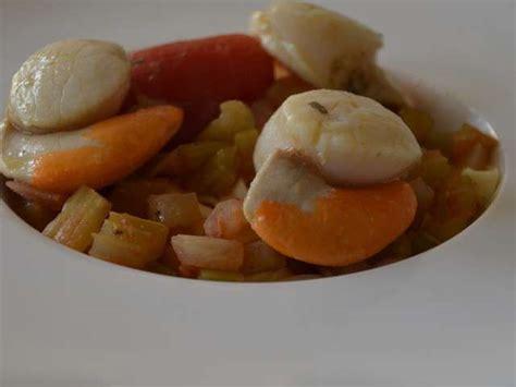 cuisiner des coquilles jacques fraiches recettes de coquilles jacques et pâtes