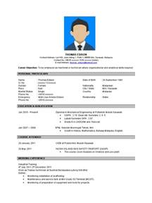 contoh resume bahasa inggeris contoh resume bahasa inggeris doc sarawak business