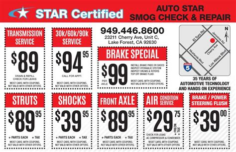 pass   retest auto star smog check  repair